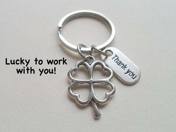 Employee Appreciation Gifts Quot Thank You Quot Silver Clover