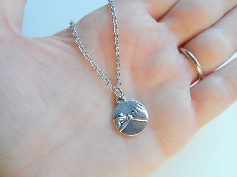 Pinky Promise Charm Necklace