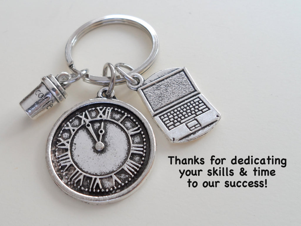Executive Assistant Gift Keychain, Office Assistant Gift, Administrative Assistant Gift, Thank You Gift, Appreciation Keychain Gift