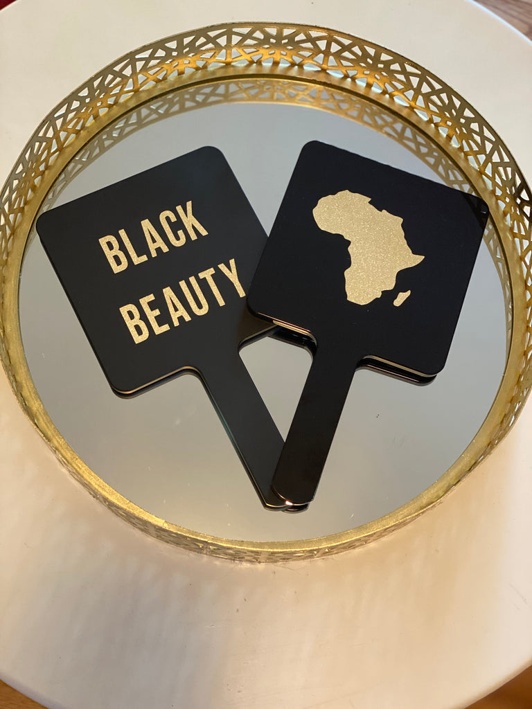 BLACK BEAUTY ~ Glossy Mirror