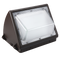 55W LED Wall Pack Light - Semi Cutoff - Glass - PC - Forward Throw - Photocell Include