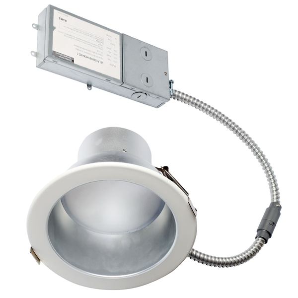 LED 8 Inch Commercial Recessed DownLight - 25 Watt - Dimmable - 2565 Lumens