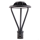 75W LED Post Top Light - Street Lights - Selectable CCT - Bronze - With Sensor