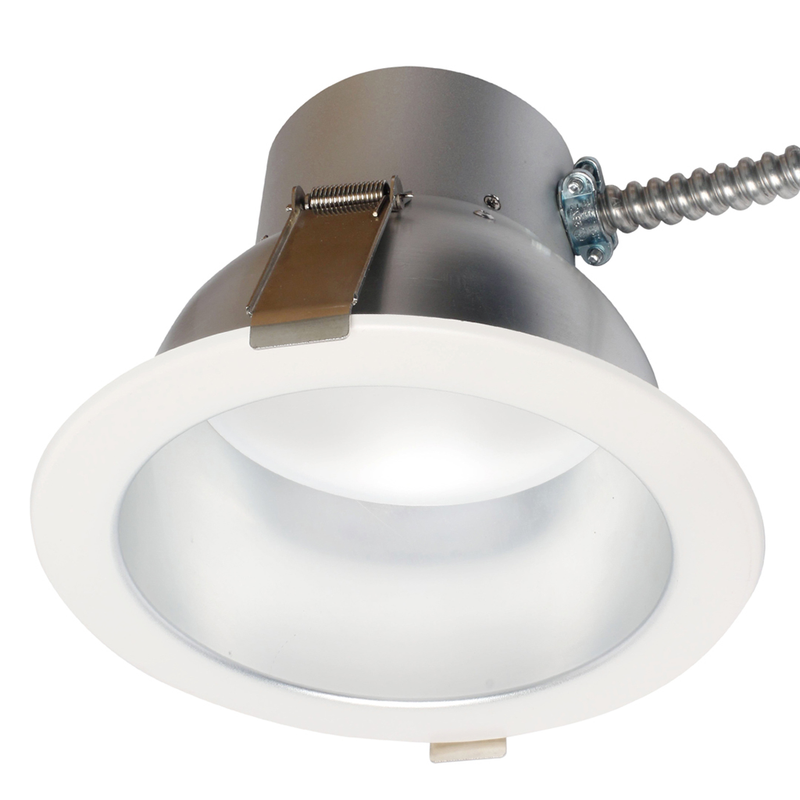 LED 8 Inch Commercial Recessed DownLight - 45 Watt - Dimmable - 4354 Lumens