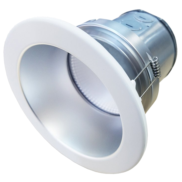 LED 6 Inch Recessed Light With Interchangeable Trim - 13 Watt - Dimmable - Baffled
