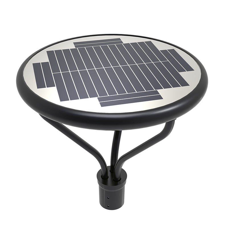 25W Solar LED Garden Light - 3700 Lumens - Solar LED Courtyard Bollard Lights