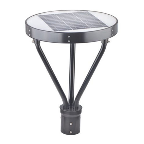 25W Solar Post Top - LED Pathway And Street Lights - 3000 Lumens - Remote Control