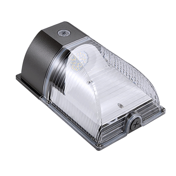 35W LED Wall Pack Light - Semi Cutoff - Forward Throw - Photocell Included