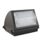 60W LED Wall Pack Light - Semi Cutoff - High Voltage - Glass - Forward Throw
