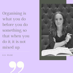 Lucy Watty - AA Milne quote