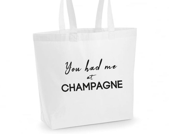 You Had Me At Champagne Women's Tote Bag