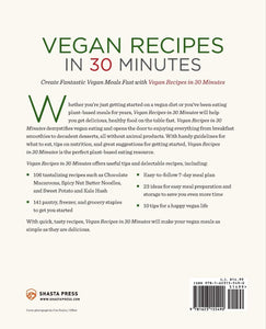 Vegan Recipes in 30 Minutes: A Vegan Cookbook with 106 Quick & Easy Recipes - Tolerant Planet