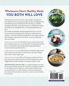 The Heart Healthy Cookbook: for Two: 125 Perfectly Portioned Low Sodium, Low Fat Recipes. - Tolerant Planet