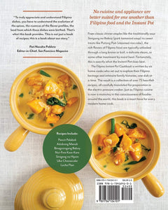 The Filipino Instant Pot Cookbook: Classic and Modern Filipino Recipes for Your Electric Pressure Cooker - Tolerant Planet