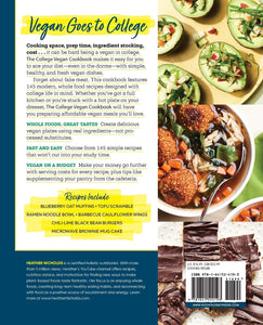 The College Vegan Cookbook: 145 Affordable, Healthy & Delicious Plant-Based Recipes - Tolerant Planet
