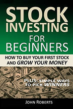 Load image into Gallery viewer, Stock Investing For Beginners: How To Buy Your First Stock And Grow Your Money - Tolerant Planet