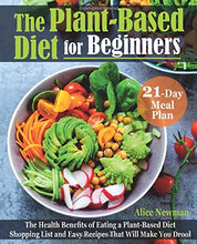 Load image into Gallery viewer, The Plant-Based Diet for Beginners: The Health Benefits of Eating a Plant-Based Diet. 21-Day Meal Plan, Shopping List and Easy Recipes That Will Make You Drool - Tolerant Planet
