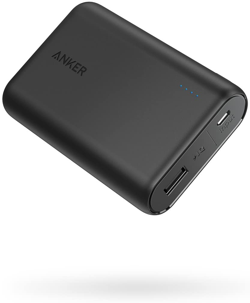 Anker PowerCore One of The Smallest and Lightest 10000mAh Power Bank, Ultra-Compact Battery Pack - Tolerant Planet