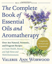 Load image into Gallery viewer, The Complete Book of Essential Oils and Aromatherapy, Revised and Expanded: Over 800 Natural, Nontoxic, and Fragrant Recipes to Create Health, Beauty, and Safe Home and Work Environments - Tolerant Planet