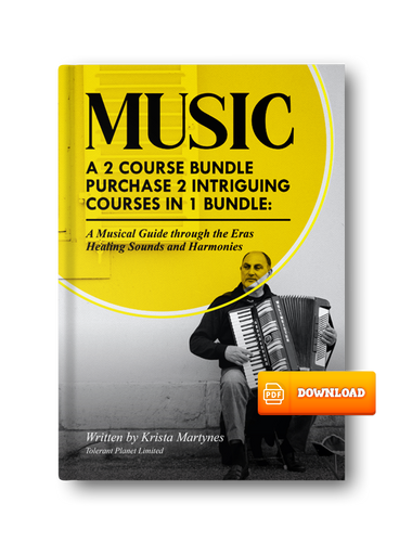 SENIOR BUNDLE : 5-1 : 3-Music Courses, and 2-Dance Courses Wrapped into 1 Price! Buy this bundle for only $300.00 - Tolerant Planet
