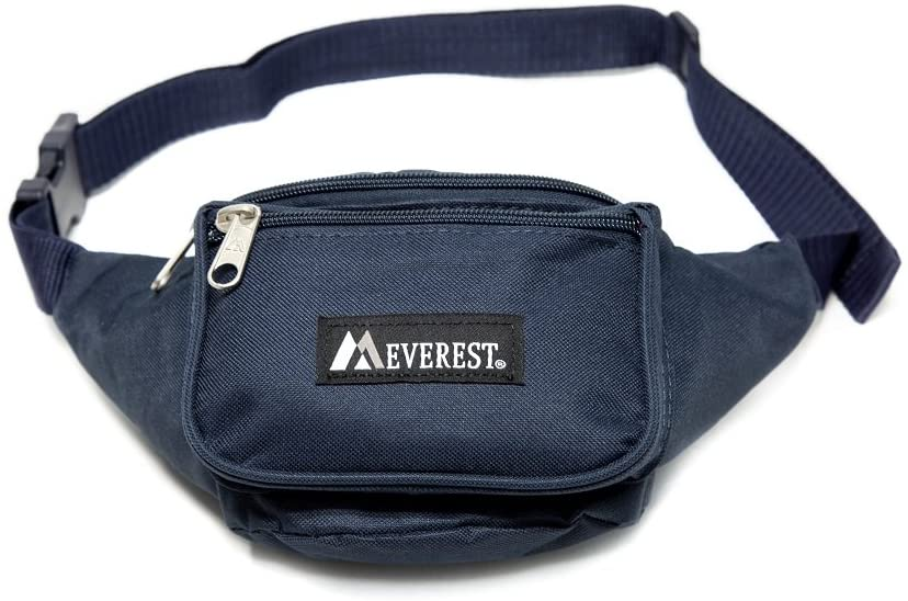 Everest Signature Waist Pack - Standard, Navy, One Size - Tolerant Planet