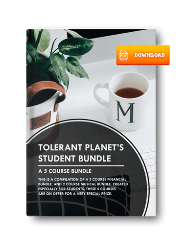 5-1 Student Bundle: 3-Music Courses, and 2-Dance Courses Wrapped into 1 Price! Buy this bundle for only $300.00 - Tolerant Planet