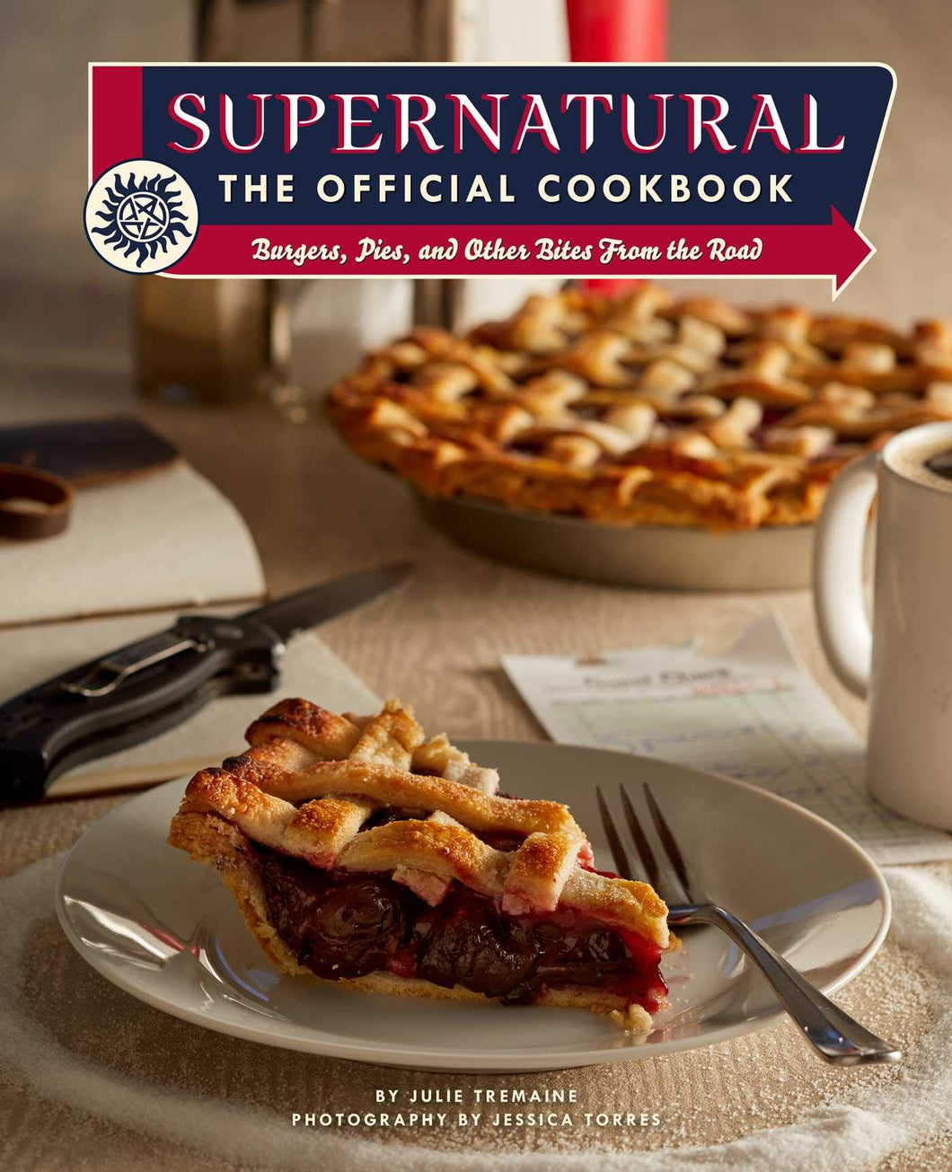 Supernatural: The Official Cookbook: Burgers, Pies, and Other Bites from the Road (Science Fiction Fantasy) - Tolerant Planet
