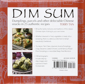 Dim Sum: Dumplings, parcels and other delectable Chinese snacks in 25 authentic recipes - Tolerant Planet