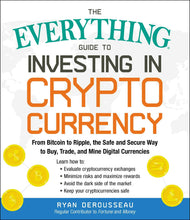 Load image into Gallery viewer, The Everything Guide to Investing in Cryptocurrency: From Bitcoin to Ripple, the Safe and Secure Way to Buy, Trade, and Mine Digital Currencies - Tolerant Planet