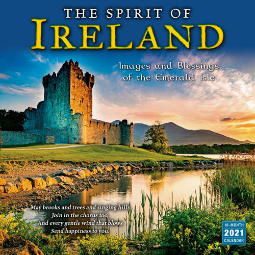 2021 Ireland Images Blessings of Isle 16-Month Wall Calendar - Tolerant Planet