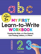 Load image into Gallery viewer, My First Learn to Write Workbook: Practice for Kids (Kids coloring activity books) Paperback - Tolerant Planet