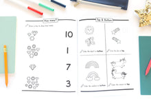 Load image into Gallery viewer, Ages 2-4: Beginner Workbook Math Preschool Learning Book. paperback - Tolerant Planet