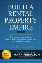 Load image into Gallery viewer, Build a Rental Property Empire: The no-nonsense book, on finding deals, financing, the right way, and managing wisely. - Tolerant Planet