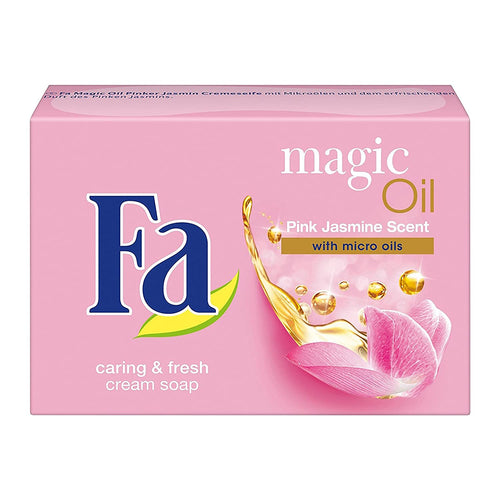 Fa Magic-Oil Soap Pink. Jasmine Scent 90g (Imported from EU) - Tolerant Planet