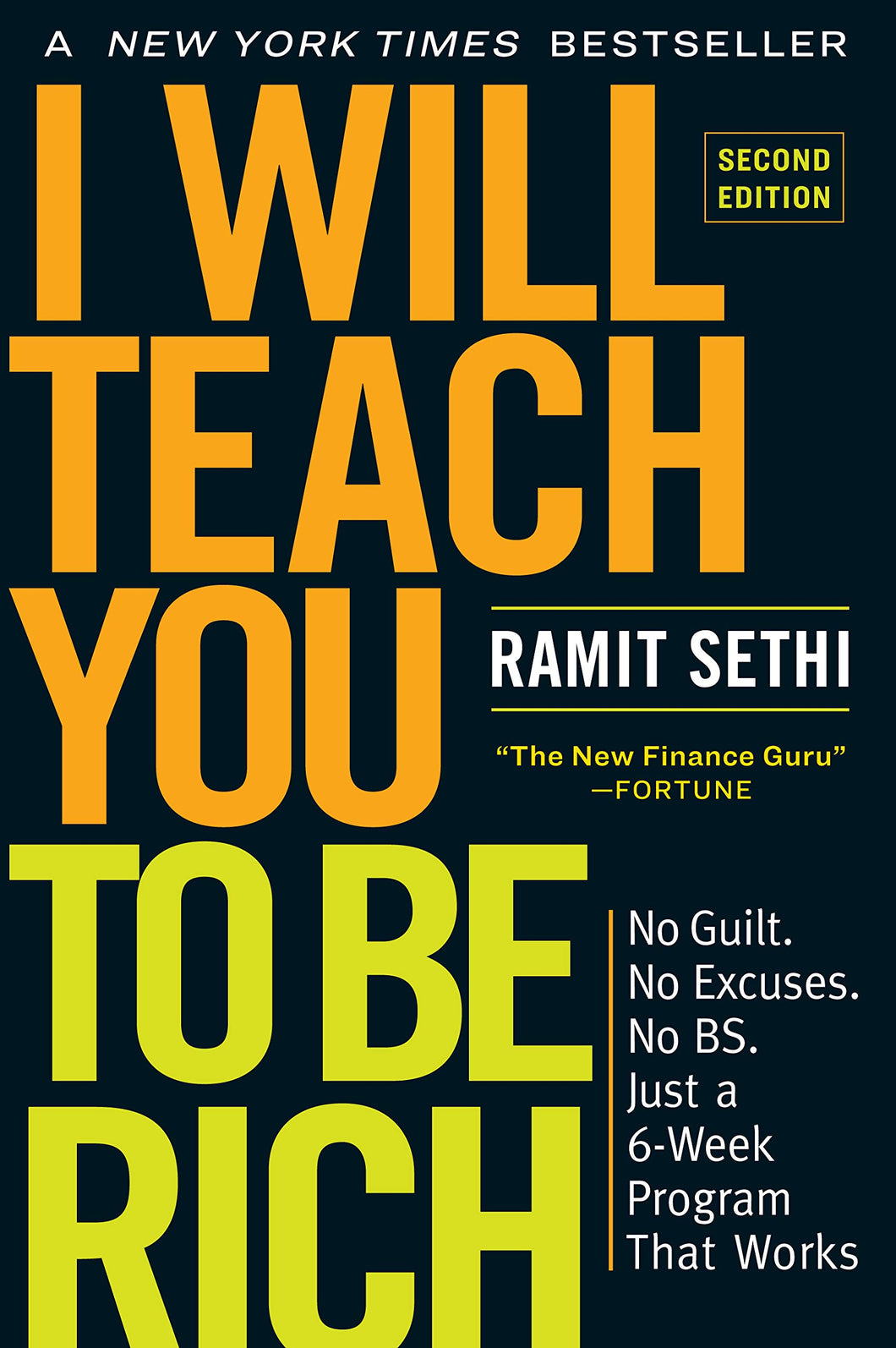 I Will Teach You to Be Rich, Second Edition: Just a 6-Week Program That Works - Tolerant Planet
