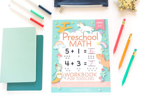 Ages 2-4: Beginner Workbook Math Preschool Learning Book. paperback - Tolerant Planet