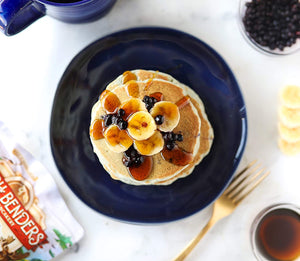 Paleo Pancake and Waffle Mix by Birch Benders, Low-Carb, High Protein, High Fiber, Gluten-free - Tolerant Planet