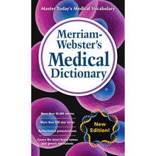 Load image into Gallery viewer, Merriam-Webster's Medical Dictionary, Newest Edition, Mass-Market Paperback - Tolerant Planet