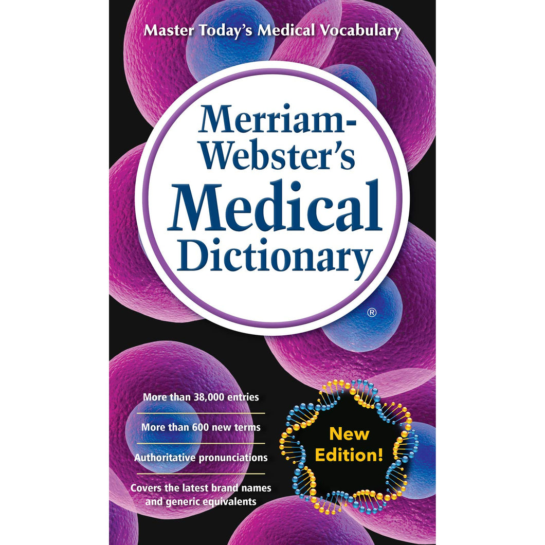 Merriam-Webster's Medical Dictionary, Newest Edition, Mass-Market Paperback - Tolerant Planet
