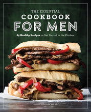 Load image into Gallery viewer, The Essential Cookbook for Men: 85 Healthy Recipes, to Get Started in the Kitchen. - Tolerant Planet