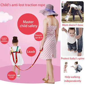 Snailhouse Children Toddler Cosy Traction Kid Anti-lost Learning Walking Infant Safety Toddler Walking Belt - Tolerant Planet