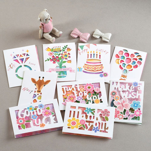 1-Set Birthday Invitation Cards - Greeting Cards - Tolerant Planet