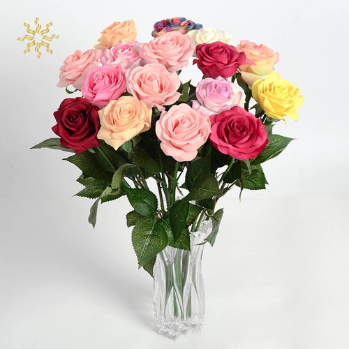 Artificial Rose Flowers Valentine Gift-Home Wedding Decor - Tolerant Planet
