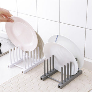 Pot Lid Rack Stainless Steel Spoon Holder Pot Lid Shelf Cooking Dish Rack Pan Cover Stand - Tolerant Planet