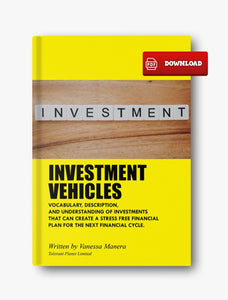 INVESTMENT VEHICLES - Tolerant Planet