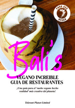 Load image into Gallery viewer, Punk Ass Vegan - Restaurantes de Bali - Recetas de la isla de los dioses (y diosas) - Tolerant Planet