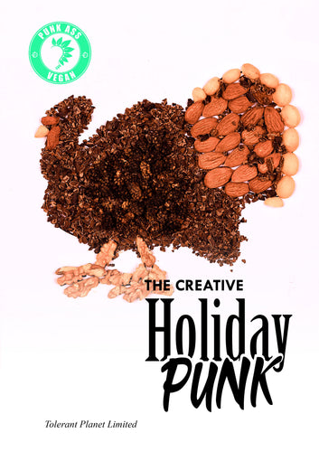 The Creative Holiday Vegan Punk-Gobble Gobble… (피와 내장 없음) - Tolerant Planet