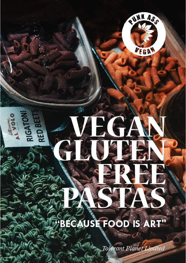 Vegan Gluten Free Pastas - Because Food is Art - Tolerant Planet