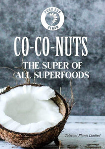 Co-Co-NUTS - Super of all Superfoods - Tolerant Planet