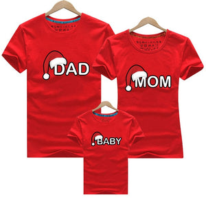 Family Clothing 2020 Christmas Snowman Print Kid T-shirts Mommy and Me Clothes Mother Daughter Father Family Matching Outfits - Tolerant Planet